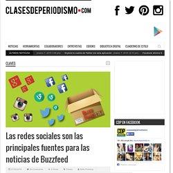 Las redes sociales son las principales fuentes para las noticias de Buzzfeed
