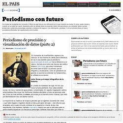 Periodismo de precisión y visualización de datos (parte 2) >> Periodismo con Futuro