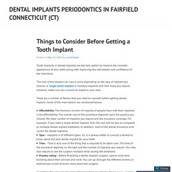 Dental Implants Periodontics in Fairfield Connecticut (CT)