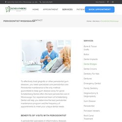 Periodontist In Mississauga – Get Specialized Periodontal Care