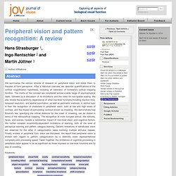 Peripheral vision and pattern recognition: A review