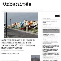 Chroniques / Se loger en périphérie de Mexico : une production résidentielle aux multiples visages