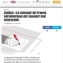 (20+) Guilluy: «Le concept de France périphérique est souvent mal interprété»