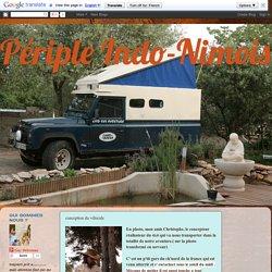 Périple Indo-Nimois: conception du véhicule