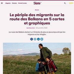 Le périple des migrants sur la route des Balkans en 5 cartes et graphiques