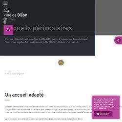 Ville de Dijon - Accueils périscolaires