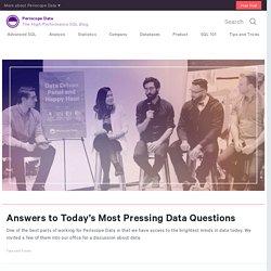 Periscope High-Performance SQL Blog