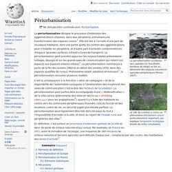 Périurbanisation