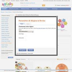 Perles En Bois & Noyau, vente des Perles En Bois & Noyau en gros pas cher-nbeads.com
