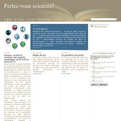 Perlez-vous sciences?