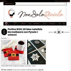 Perline IKEA: 20 idee natalizie da realizzare con Pyssla + schemi