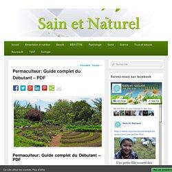 Permaculteur: Guide complet du Débutant - PDF