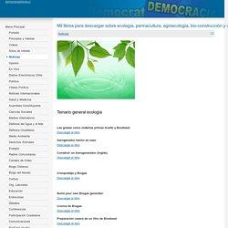 Mil libros para descargar sobre ecología, permacultura, agroecología, bio-construcción y vida sustentable.