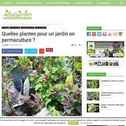Quelles plantes pour un jardin en permaculture ?