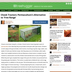 Chook Tractors: Permaculture's Alternative to 'Free Range'
