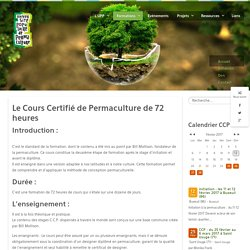 Université populaire de permaculture - Certification