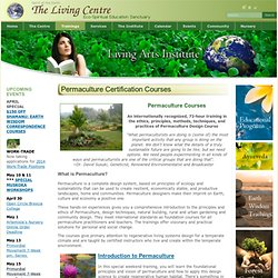 Permaculture Certification Courses