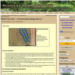 Wind & Sun Farm – A Permaculture Design (Part 2 of 4) - Midwest Permaculture