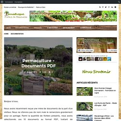 Permaculture – Documents PDF