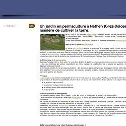 Graines de vie - Un jardin en permaculture à Nethen (Grez-Doiceau): une autre manière de cultiver la terre.