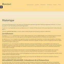 Historique - Permaculture Suisse romande