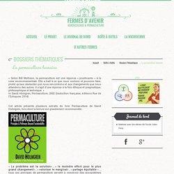 La permaculture humaine - Fermes d'avenir