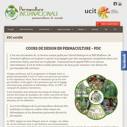 PDC certifié – Permaculture Internationale