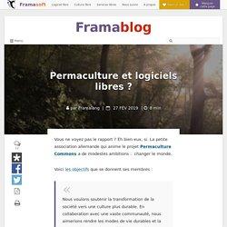 Permaculture et logiciels libres