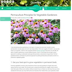 Permaculture Principles for Vegetable Gardeners