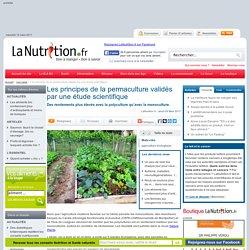 Les principes de la permaculture validés par une étude scientifique