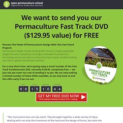 Permaculture Fast Track Special - Permaculture Design Course