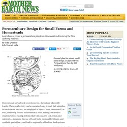 Permaculture Design for Small Farms and Homesteads - Sustainable Farming