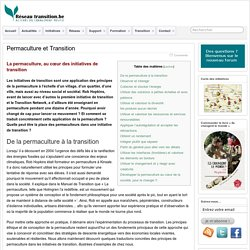 Permaculture et Transition »