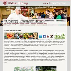 UMass Permaculture | University of Massachusetts, Amherst