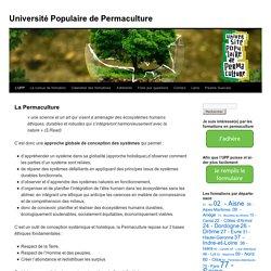 Université Populaire de Permaculture