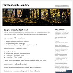 Design permaculturel participatif