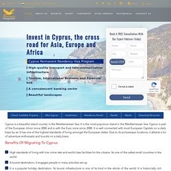 Cyprus Permanent Residency Visa Consultants Service in India