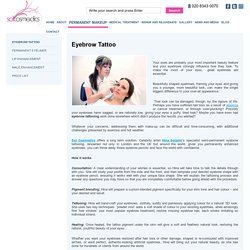 Get Best Cosmetic Tattoo Eyebrows Services