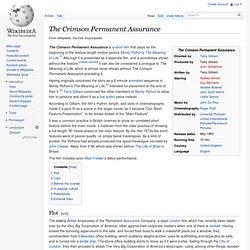 Wiki: Crimson Permanent Assurance