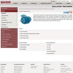 Permanent Magnet Motors - Baldor.com