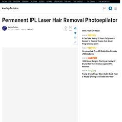 Permanent IPL Laser Hair Removal Photoepilator