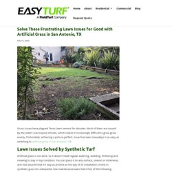 Solve Lawn Issues Permanently with Artificial Grass in San Antonio, TX