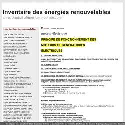 55) MOTEUR A AIMANT PERMANENT - inventaire des énergies renouvelables