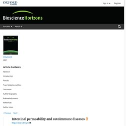 Bioscience Horizons: The International Journal of Student Research