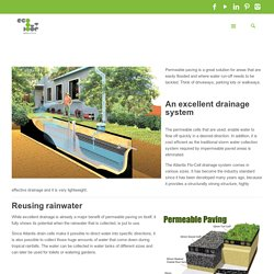 Permeable paving: preventing floods made easy