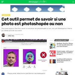 Cet outil permet de savoir si une photo est photoshopée ou non