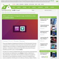 Anbox permette di eseguire le app Android su Linux in maniera nativa - Tutto Android