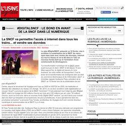 La SNCF va permettre l'accès à internet dans tous les trains... et vendre ses données