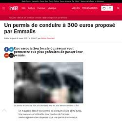 Un permis de conduire à 300 euros proposé par Emmaüs