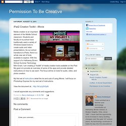 iPad2 Creation Toolkit - iMovie